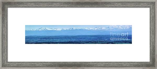 Mountain Scenery 16 Framed Print
