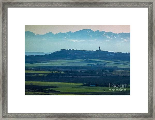 Mountain Scenery 4 Framed Print