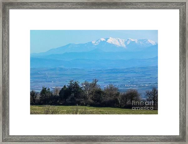 Mountain Scenery 6 Framed Print