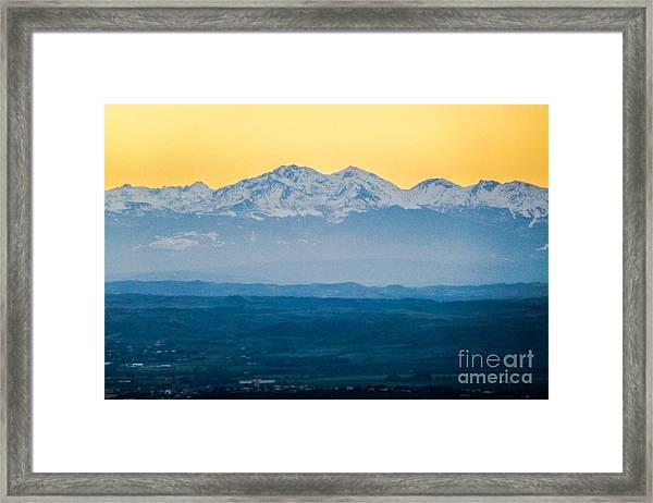 Mountain Scenery 7 Framed Print