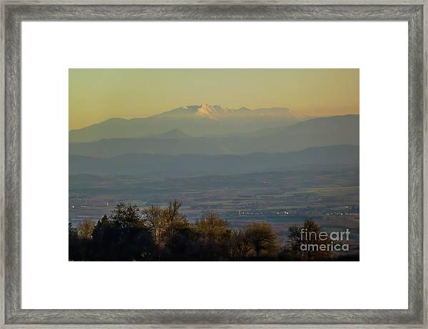 Mountain Scenery 8 Framed Print