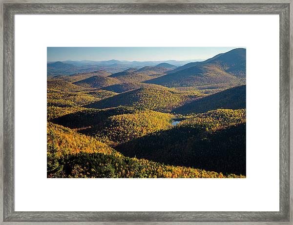 Mountain Shadows Framed Print
