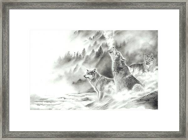 Mountain Spirits Framed Print