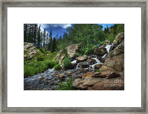 Mountain Stream 3 Framed Print