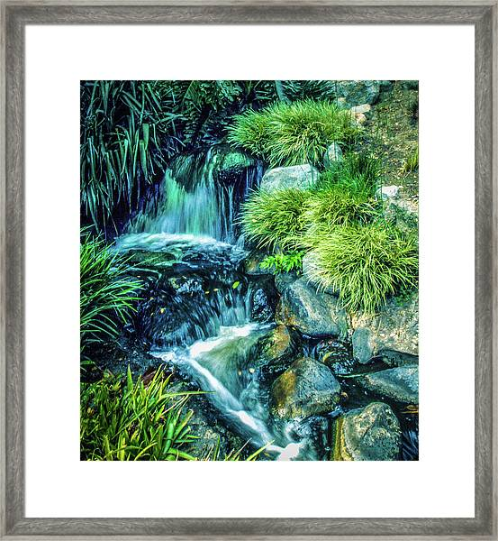 Framed Print featuring the photograph Mountain Stream by Samuel M Purvis III