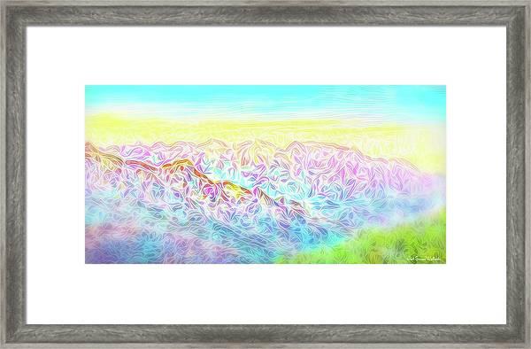 Mountain Sunrise Awakenings Framed Print