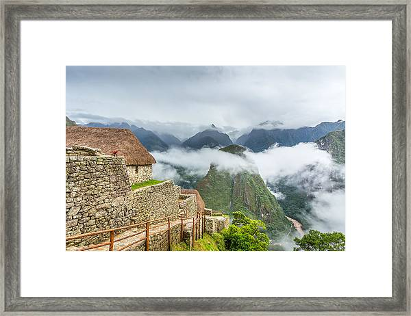 Mountain View. Framed Print