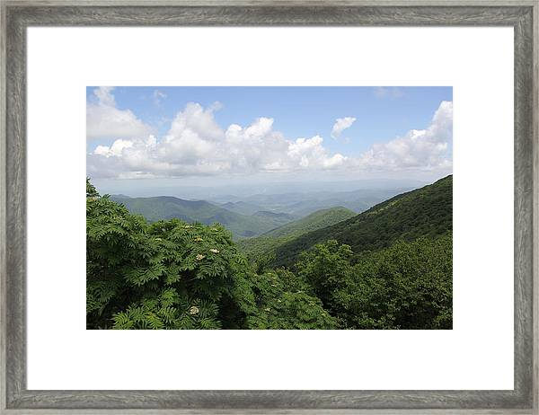 Mountain Vista Framed Print