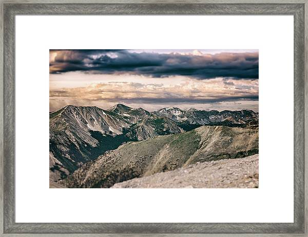 Mountain Vista Framed Print by Garett Gabriel