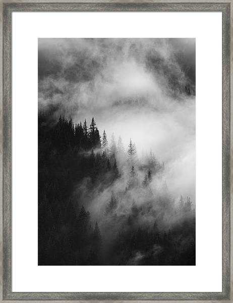 Mountain Whispers Framed Print