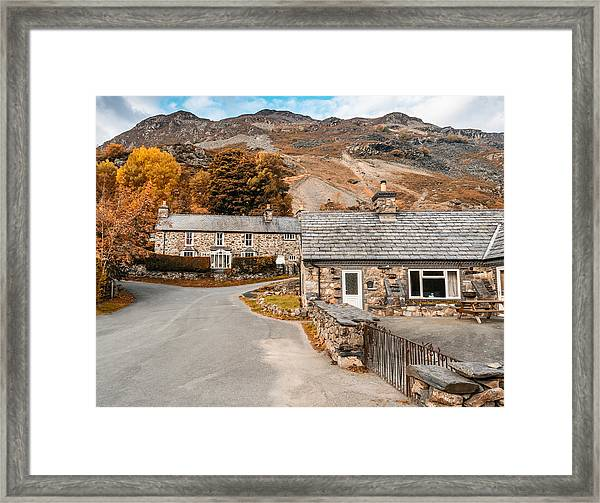 Framed Print featuring the photograph Mountains In The Back Yard by Nick Bywater