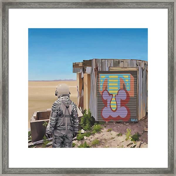Mountaintop T Framed Print