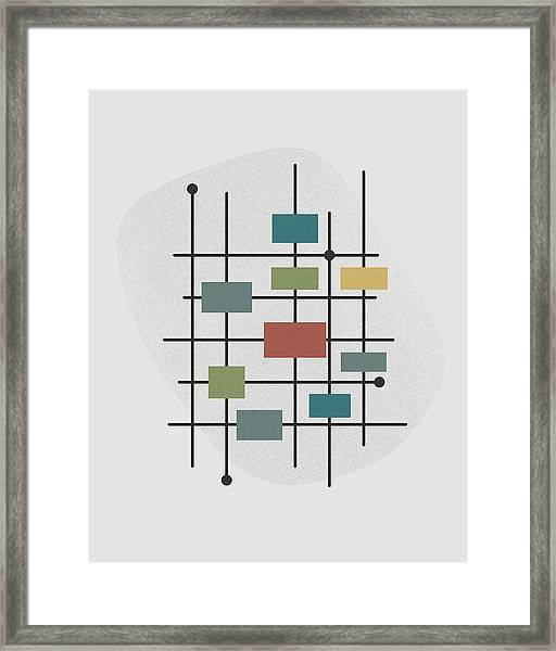 Movement - 1 Framed Print by Finlay McNevin