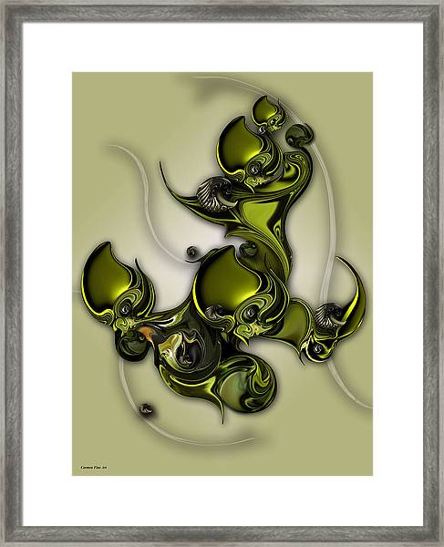 Movement Of Life  Framed Print