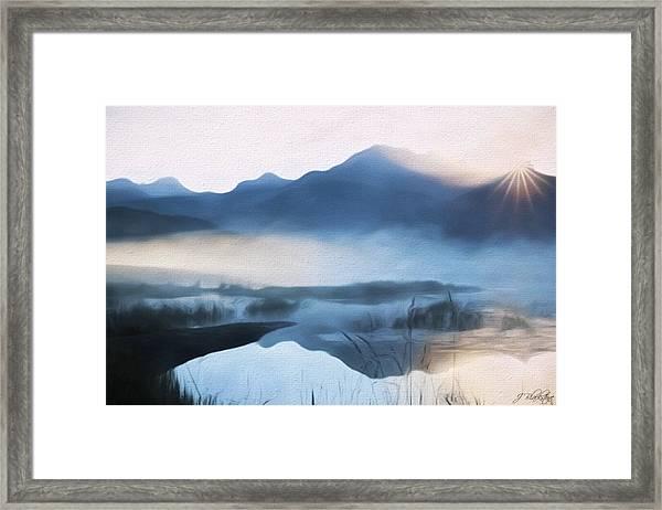 Moving Forward - Inspirational Art Framed Print