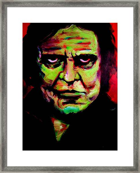 Mr. Cash Framed Print