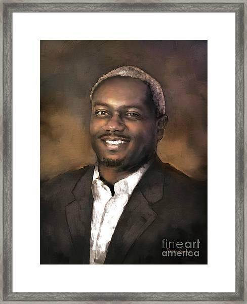 Mr. Dedrick J. Sims Framed Print