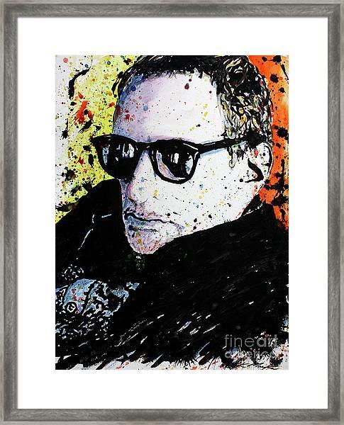 Mr Fagen Framed Print