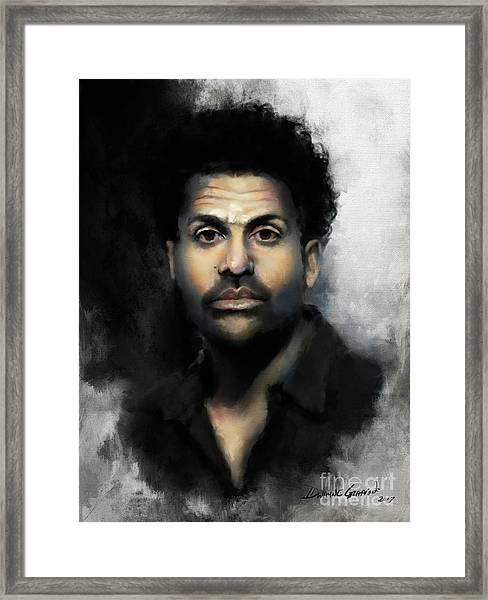 Mr. Gadlin Framed Print