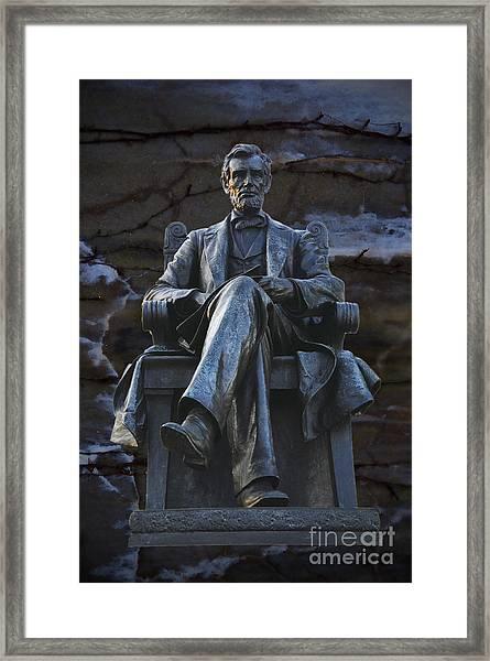 Mr. Lincoln Framed Print