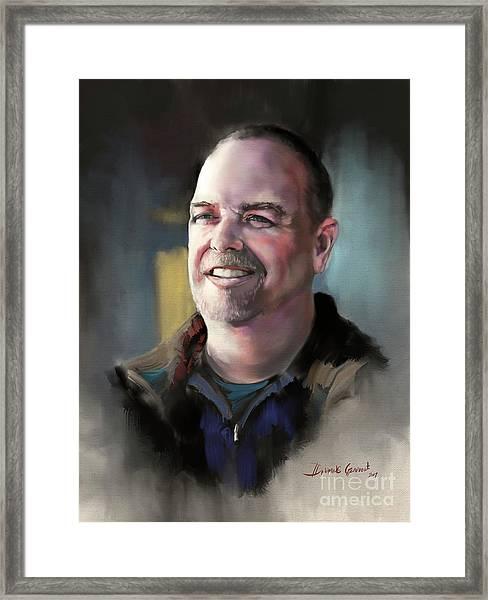 Mr. Mack Framed Print
