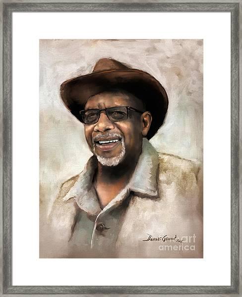 Mr. Wilson Framed Print