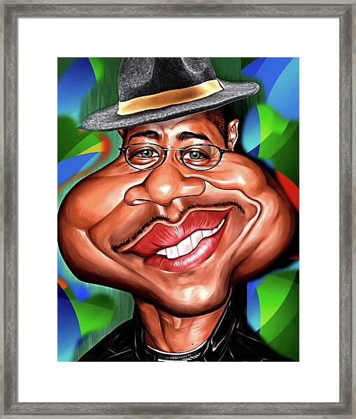 Mr.cool Framed Print
