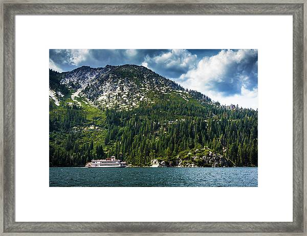 M.s. Dixie II, Lake Tahoe, Ca Framed Print