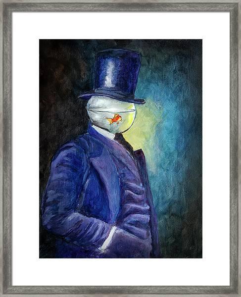Mssr. Fishhead Framed Print