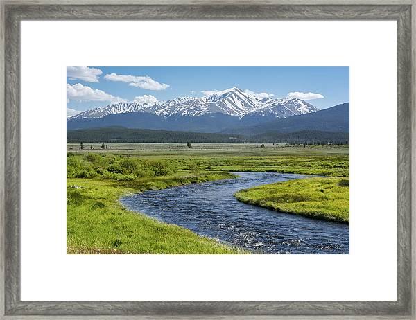 Mt. Elbert - Spring Framed Print