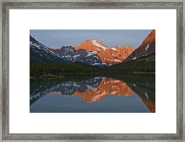 Mt. Gould Framed Print