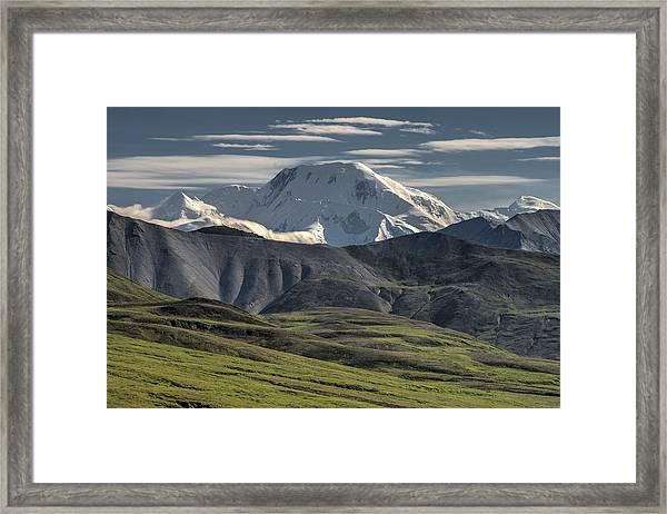 Mt. Mather Framed Print
