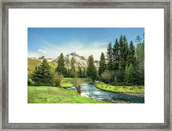 Mt. Sneffels Peak Framed Print