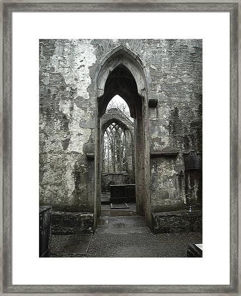 Muckross Abbey Framed Print by William Thomas