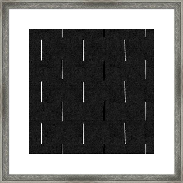 Mud Cloth 10 - Art By Linda Woods Framed Print