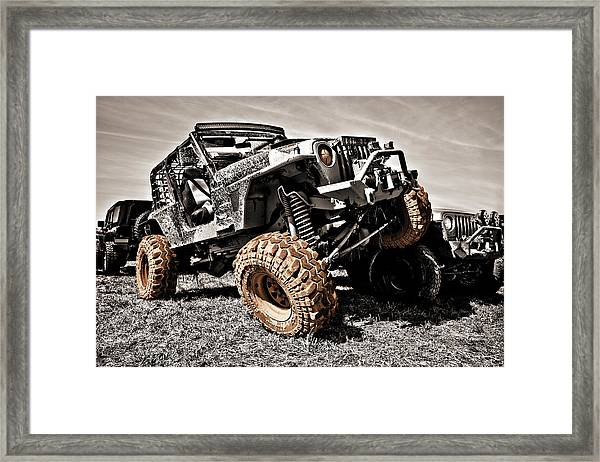 Muddy Super Swamper Tj Framed Print