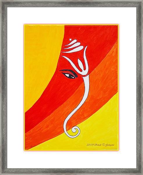 Muktidaya-bestower Of Eternal Bliss Framed Print