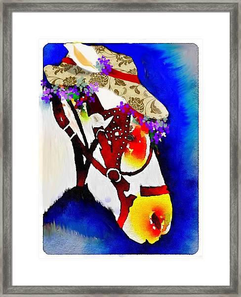 Mule Days Framed Print