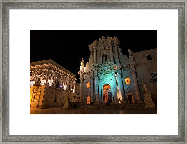 Multicolored Midnight - Framed Print