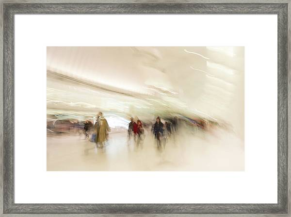 Multitudes Framed Print