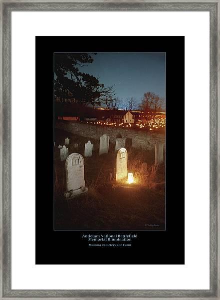 Mumma Cemetery And Farm 96 Framed Print by Judi Quelland