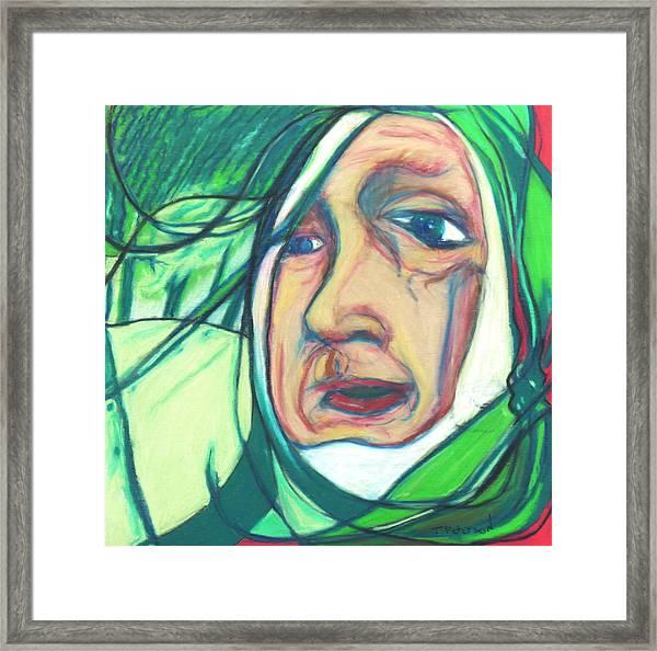 Mummers The Woodsman Framed Print