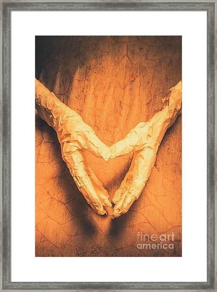 Mummies Love Halloween Framed Print