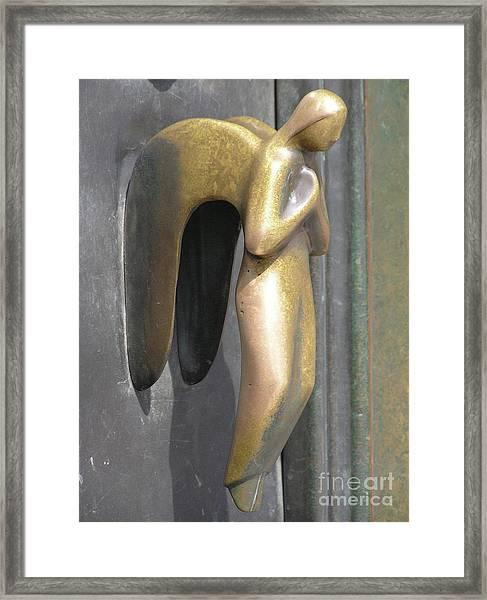 Munich Angel Framed Print