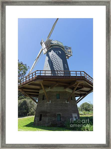 Murphy Windmill San Francisco Golden Gate Park San Francisco California Dsc6337 Framed Print