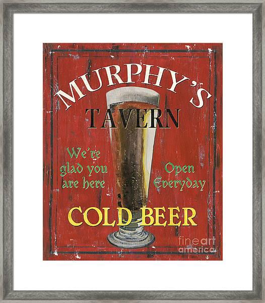 Murphy's Tavern Framed Print
