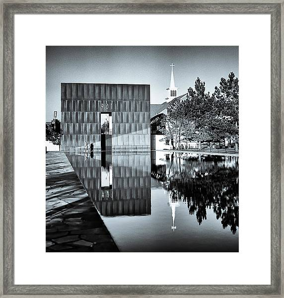 Framed Print featuring the photograph Murrah IIi by Samuel M Purvis III