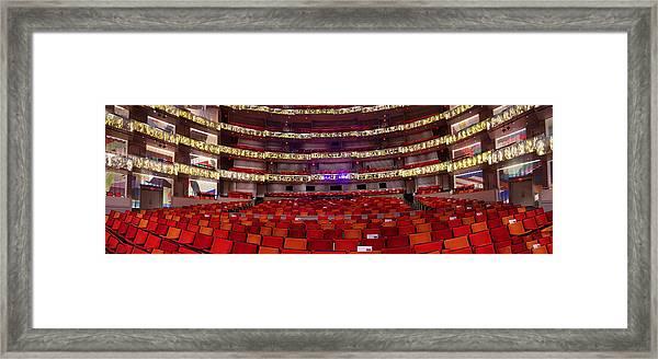 Murrel Kauffman Theater Framed Print