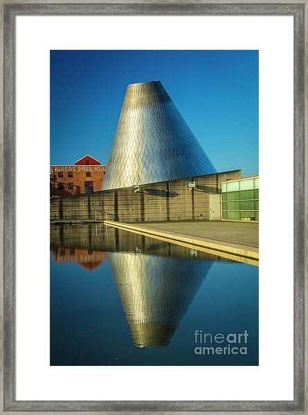 Museum Of Glass Tower Framed Print