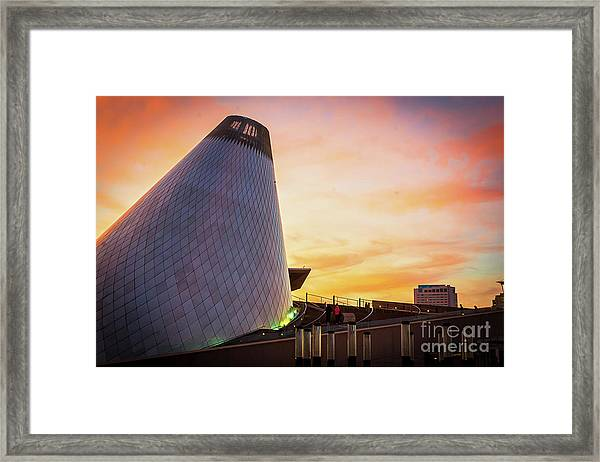 Museum Of Glass Tower#2 Framed Print